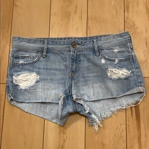 Lace Designed Hollister Shorts